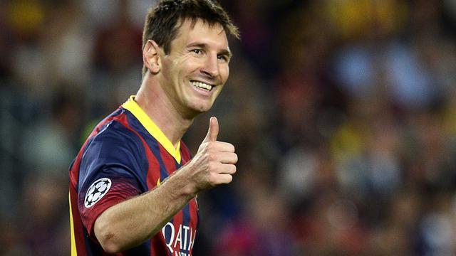 'Messi met 41 miljoen euro best verdienende voetballer in 2013'