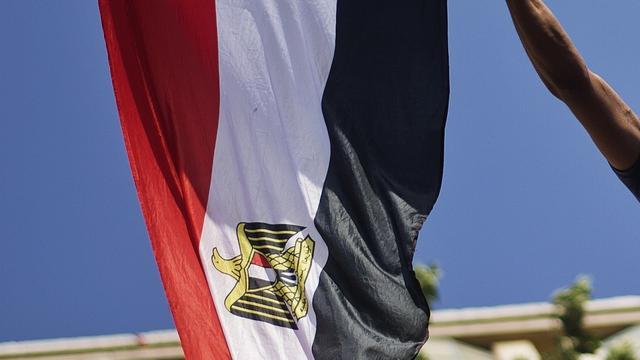 Onteren vlag Egypte voortaan misdrijf