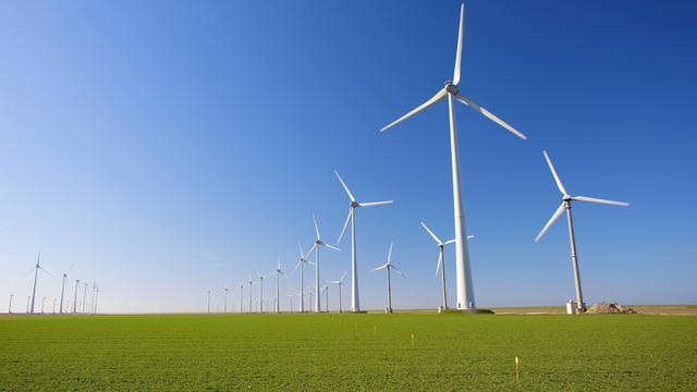 Wind voor het eerst belangrijkste bron voor duurzame elektriciteit