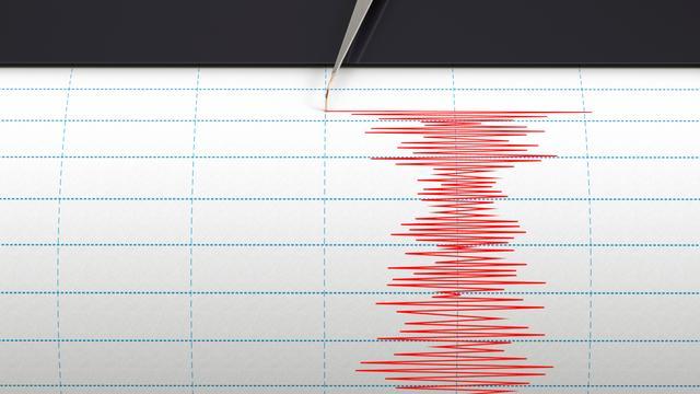 Aardbeving bij Uithuizen