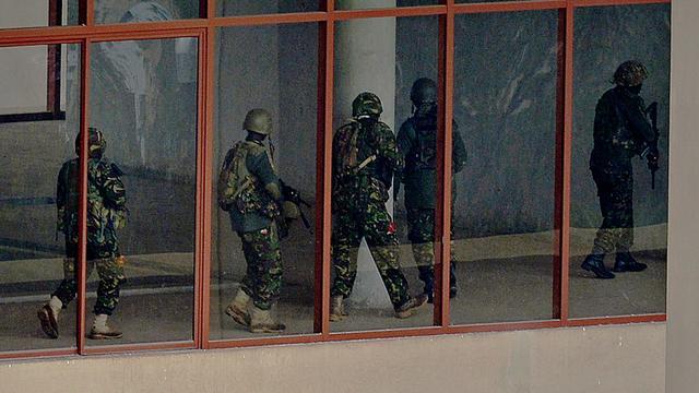 Militairen Kenia opgepakt om plunderen Westgate