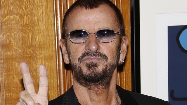 Ringo Starr krijgt Franse onderscheiding voor kunst