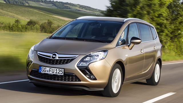 Nieuwe Opel Zafira mogelijk uit Frankrijk