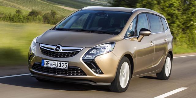 Opel Zafira Tourer komt beschikbaar met 200 pk