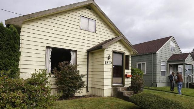 Oude huis Kurt Cobain te koop