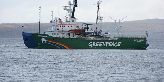 Hoofd Greenpeace wil instaan voor activisten