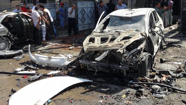 Hoge militairen Irak gedood bij bomaanslag