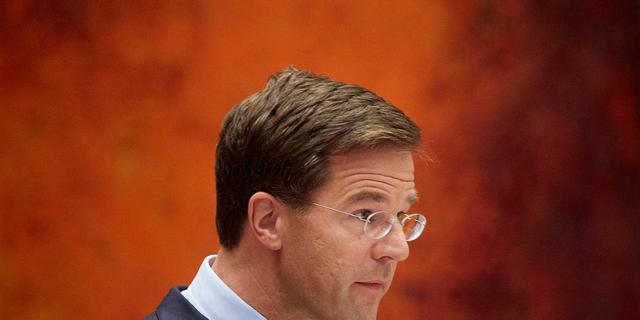 Rutte wil niet praten over omvang bezuiniging