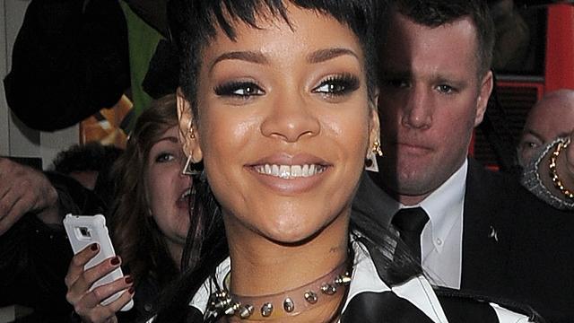 Rihanna in campagne Balmain