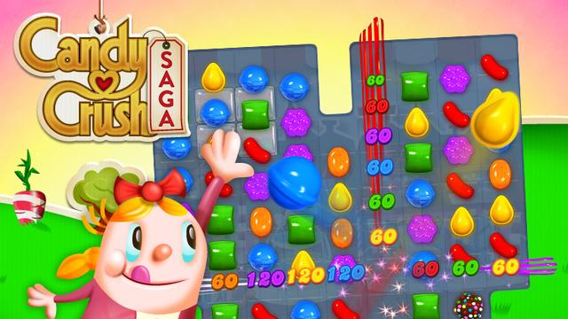 Candy Crush populairste en best verdienende iOS-app
