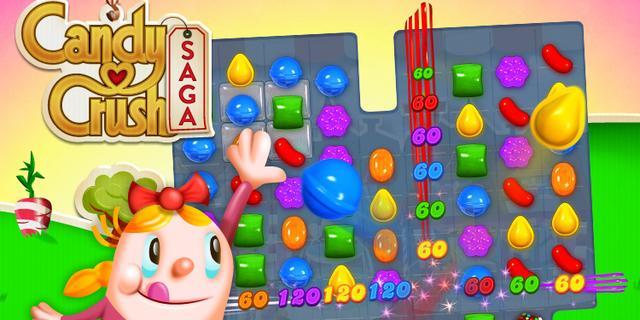Candy Crush-maker verdiende 400 miljoen euro in 2013