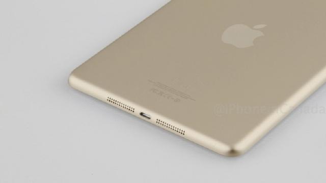 'iPad Mini 2 krijgt vingerafdrukscanner en gouden kleur'