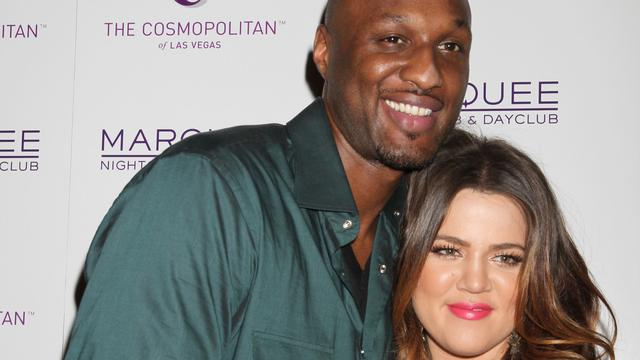 'Lamar Odom en Khloé Kardashian niet samen met Thanksgiving'