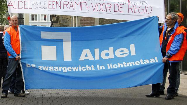Aluminiumbedrijf Aldel failliet