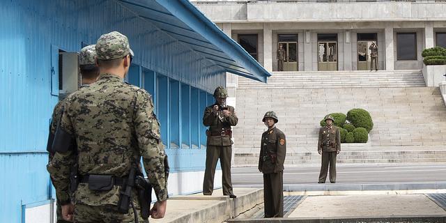 Vluchtende Noord-Koreaanse soldaat neergeschoten