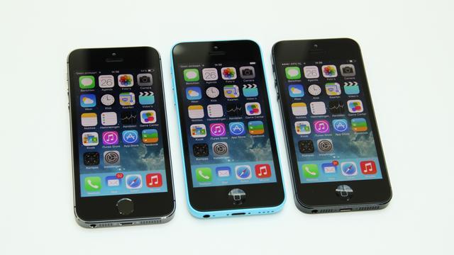 Het verschil tussen de iPhone 5S, 5C en 5