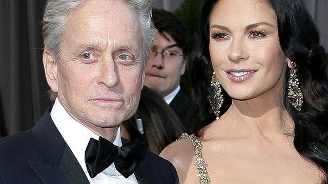 Michael Douglas en Catherine Zeta-Jones weer samen gezien