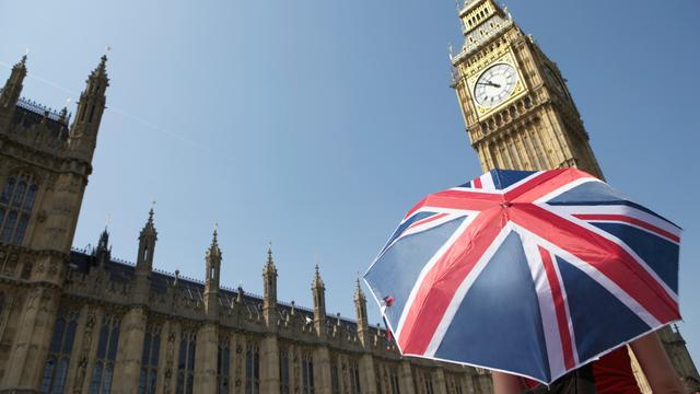 Dalende huizenprijzen Verenigd Koninkrijk