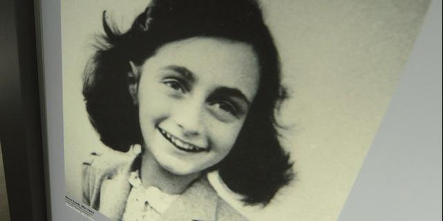 Pagina's gescheurd uit dagboeken Anne Frank Japan