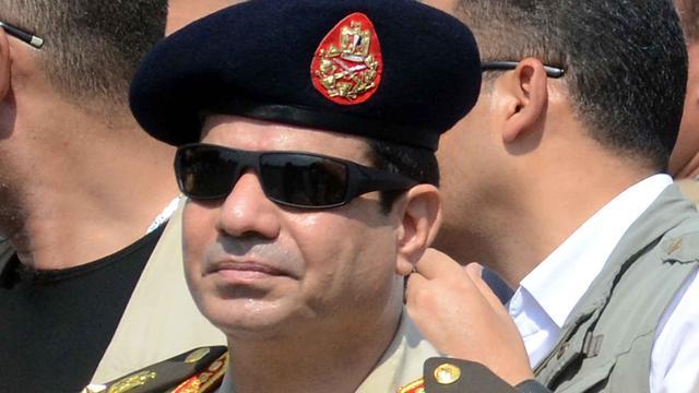 Al-Sisi doet gooi naar presidentschap Egypte