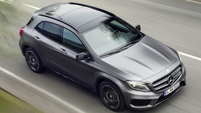 Mercedes voorziet GLA van prijzen