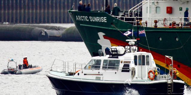 Nederland start arbitragezaak om Arctic Sunrise