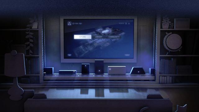 Steam-apparaten van gamebedrijf Valve vanaf oktober verkrijgbaar