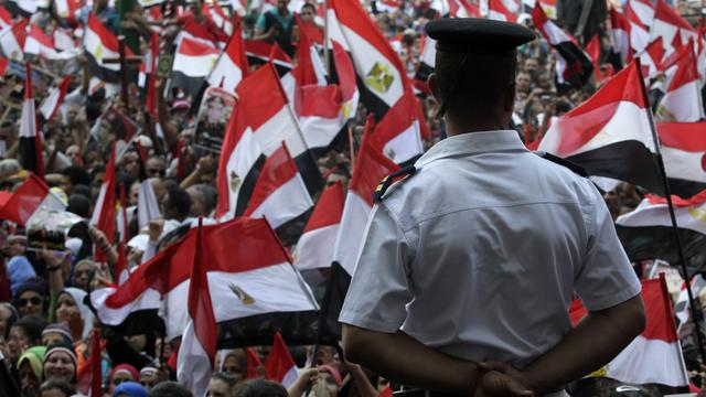 Oproep tot protest in Egypte