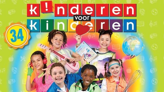 Platina voor 34e album Kinderen Voor Kinderen