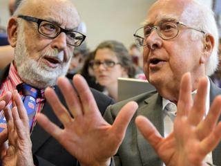Wetenschappers gelauwerd voor werk aan Higgs-deeltje