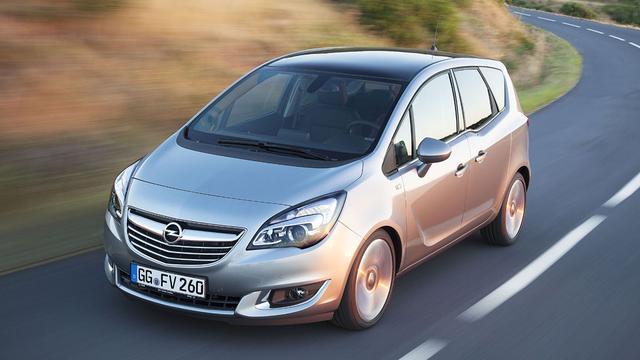 Spionagebeelden nieuwe Opel Meriva