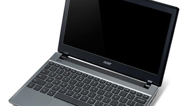Acer introduceert 11 inch Chromebook met zuinige cpu
