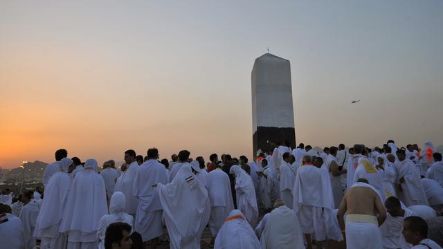 Minder moslims op bedevaart door coronavirus en bouw