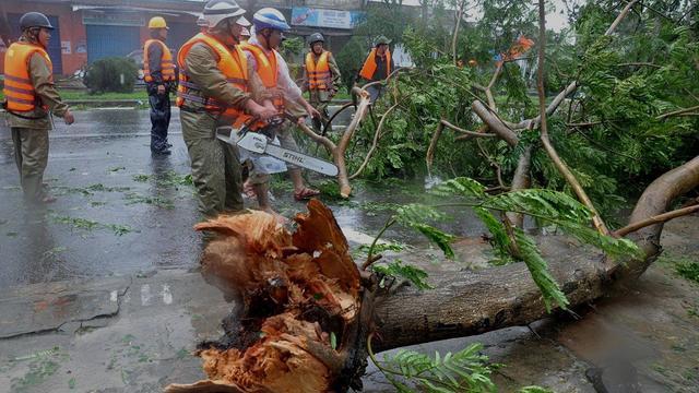 Doden en veel evacués door tyfoon in Vietnam