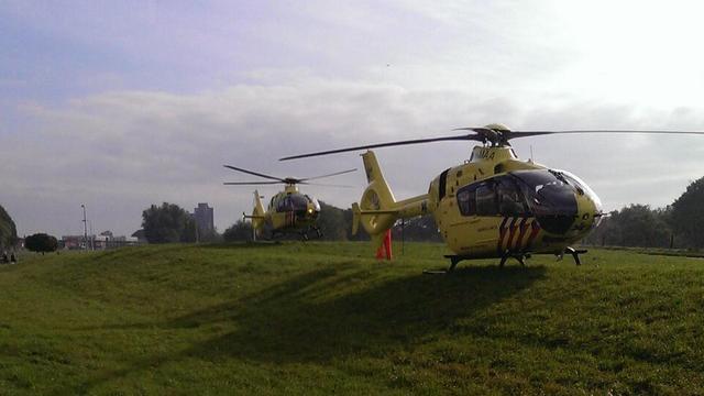 Man overleden na aanvaring in Nieuwe Maas