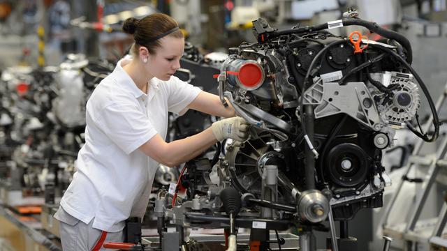 Weer forse dip voor Duitse fabrieksorders