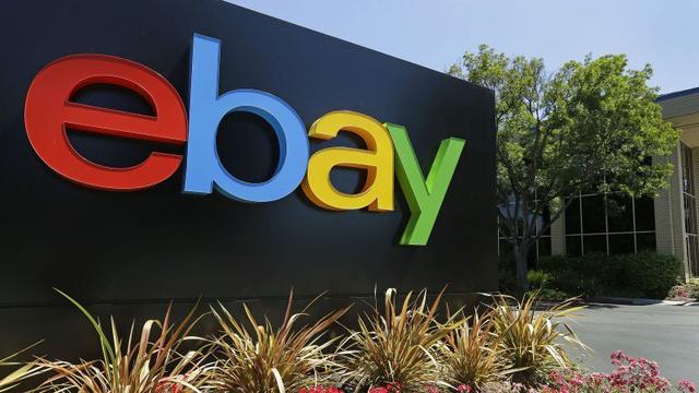 Winst eBay flink geduikeld in eerste kwartaal