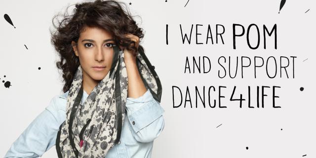 Toprak Yalçiner ontwerpt sjaal voor goed doel