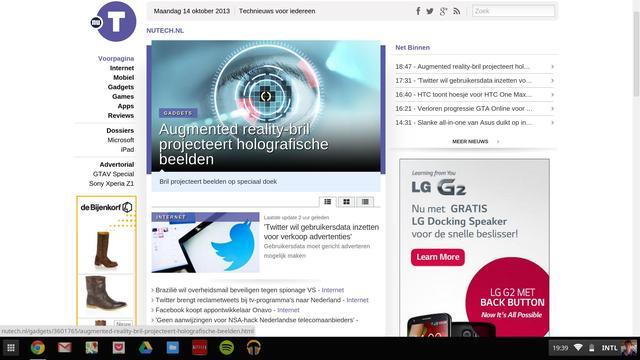 Chrome OS - Browser