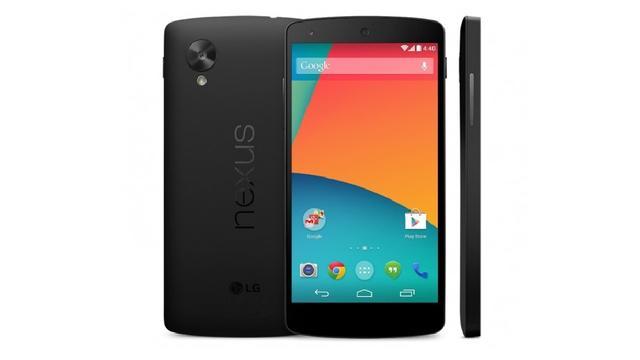 'Nexus 5 komt uit op 31 oktober'
