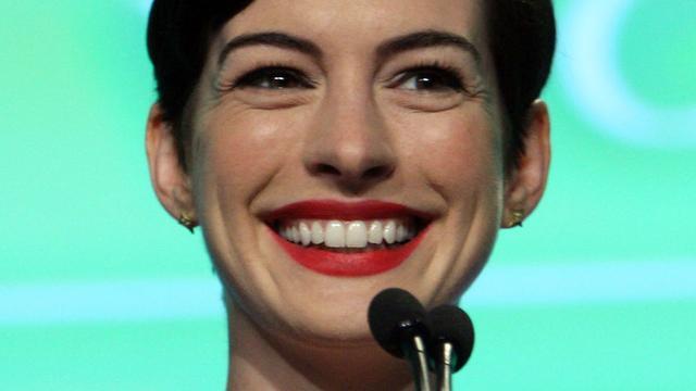Anne Hathaway ziet concurrentie van jongere actrices toenemen