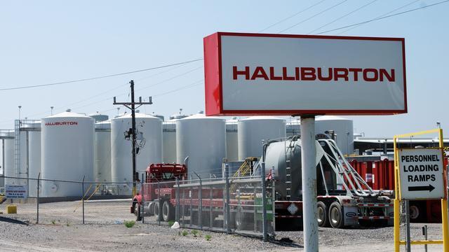 Oliedienstverlener Halliburton krabbelt op door schalieproductie