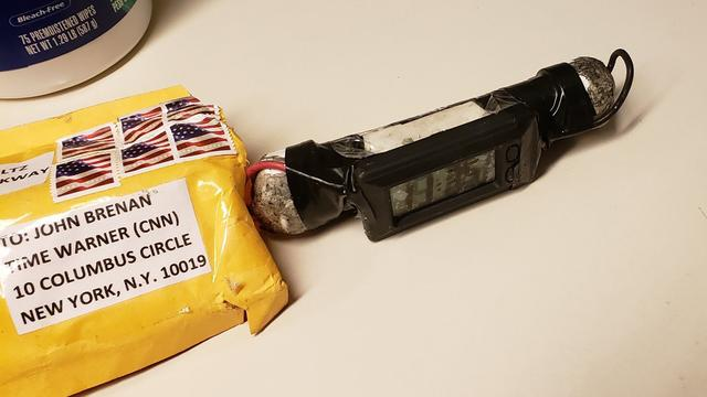 Arrestatie in verband met reeks bompakketten VS