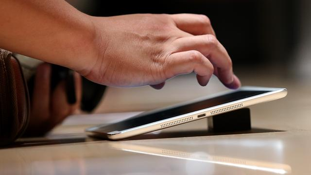 'Explosieve groei op tabletmarkt voorbij in 2014'