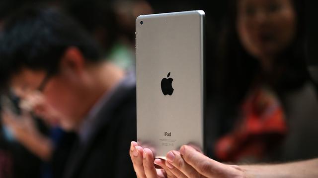 'Nieuwe iPad Mini vertraagd door ingebrande schermen'