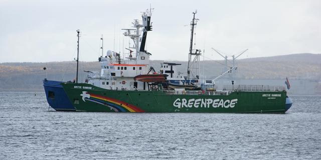 'Greenpeace wist van risico's Noordpoolactie'