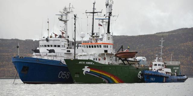 Overzicht zaak Greenpeace-schip in Rusland
