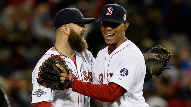 Bogaerts en Red Sox beginnen met zege aan World Series