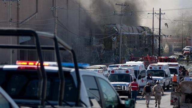 Dode bij explosie in snoepfabriek Mexico