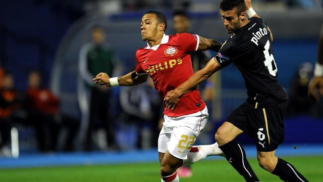 Matig PSV niet langs Dinamo Zagreb in Europa League